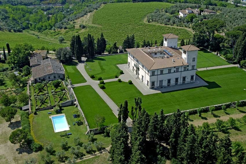 Villa Le Corti for weddings in Florence