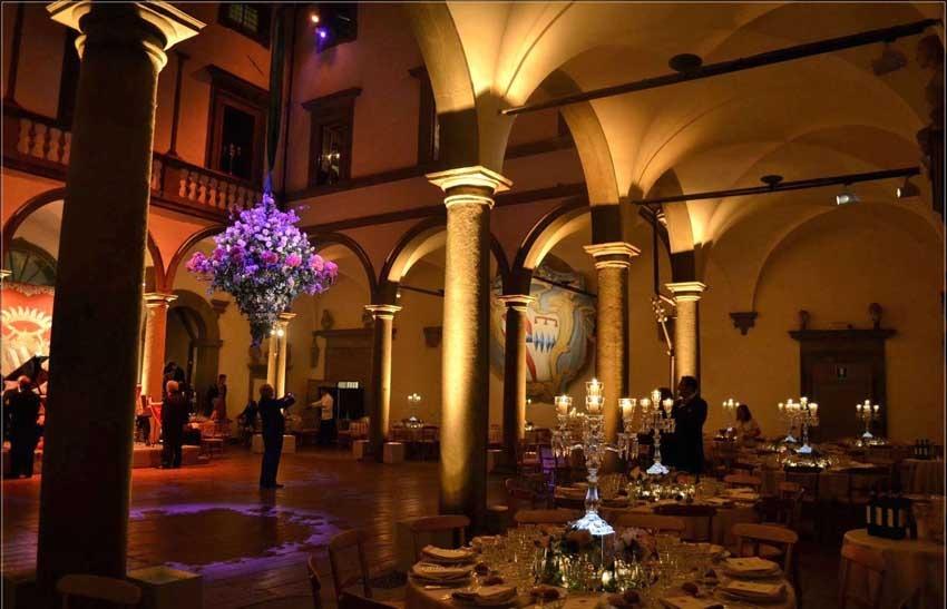 Villa Le Corti for destination weddings in Florence