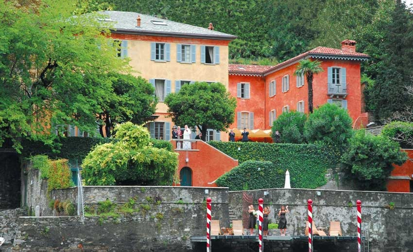 Villa Regina Teodolinda for destination weddings on Lake Como