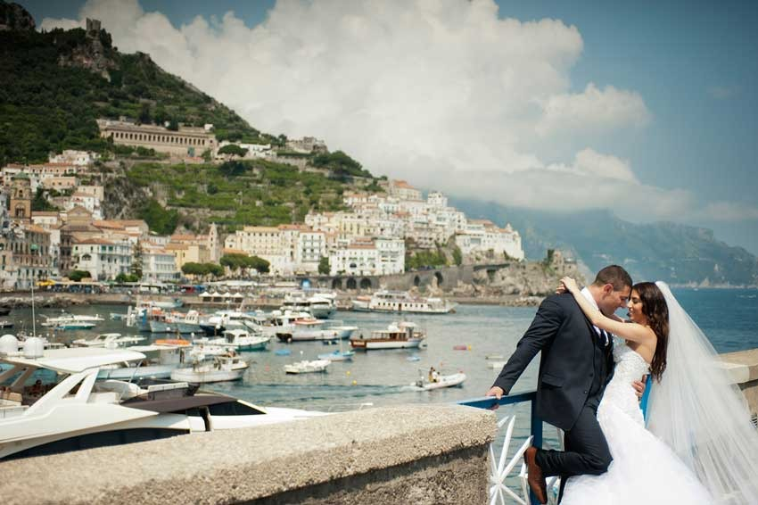 Italian Wedding in Amalfi