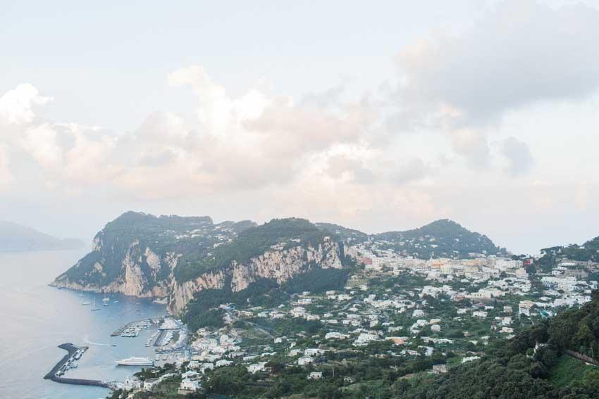 The island of Capri