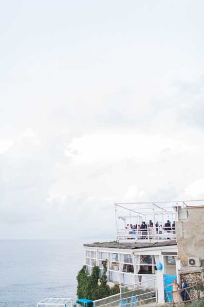 Restaurant for weddings in Capri