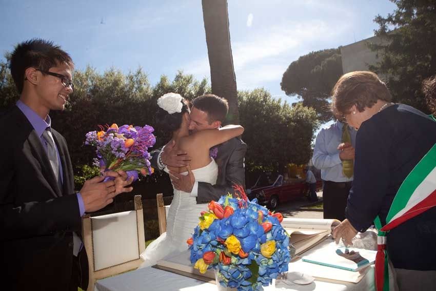 Civil wedding in Anacapri