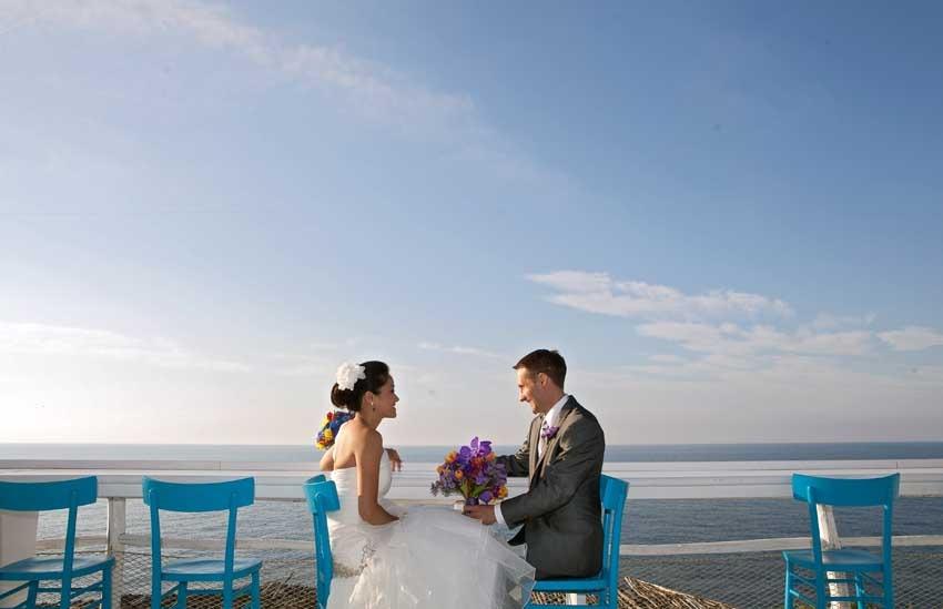 Civil wedding in Capri