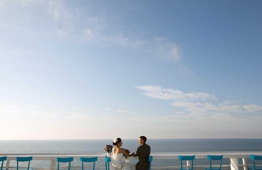 Wedding in Capri at Il Riccio Restaurant