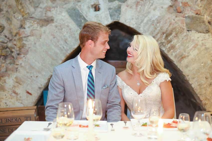 Wedding dinner in Florence