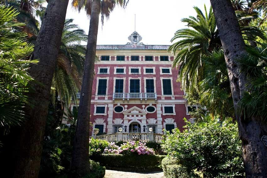 Villa Durazzo for destination weddings in Santa Margherita