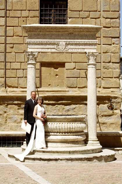 Destination weddings in Tuscany, Pienza