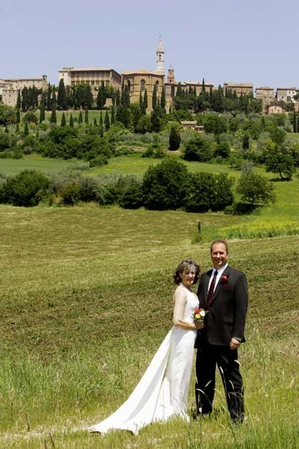 Destination weddings in Tuscany, Pienza