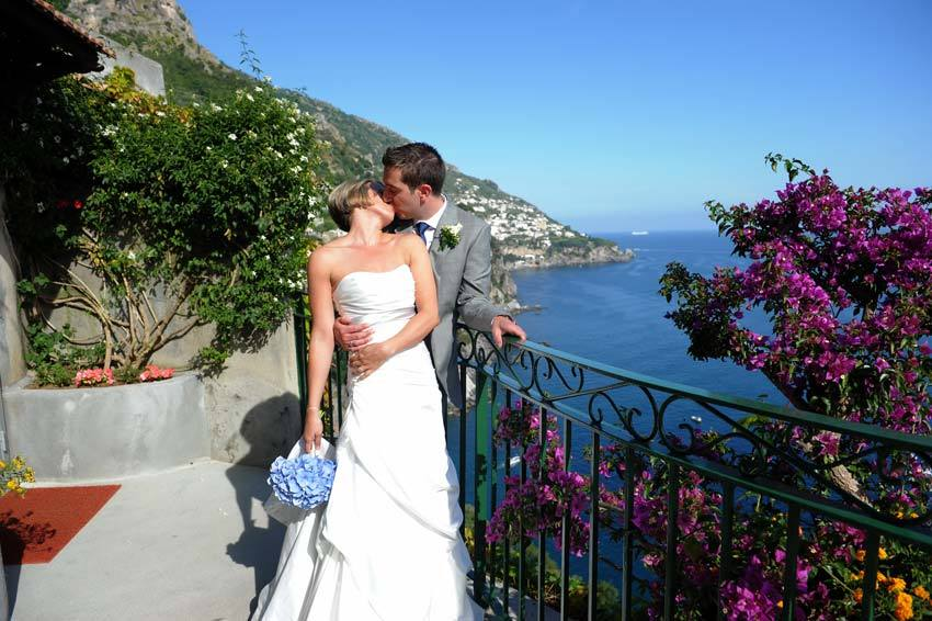 Destination wedding in Positano