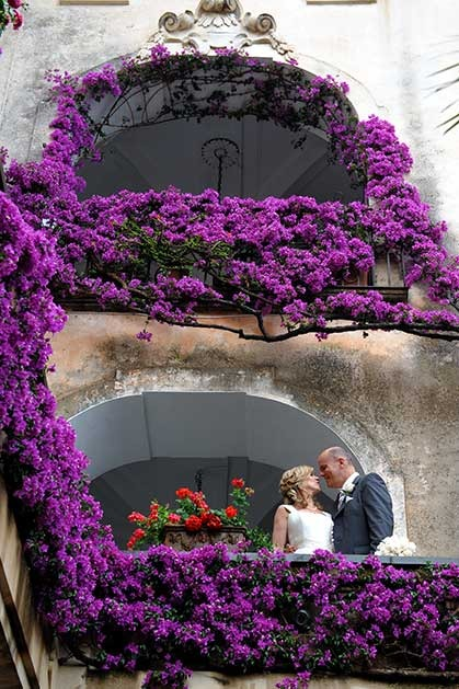 Wedding in Positano on the Amalfi Coast of Italy