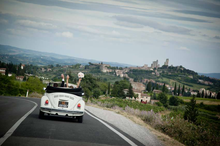 Destination weddings in San Gimignano Tuscany