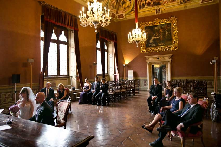 Siena Town Hall for civil weddings in Tuscany