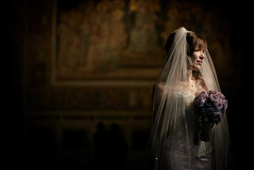 Destination wedding in Siena with civil ceremony