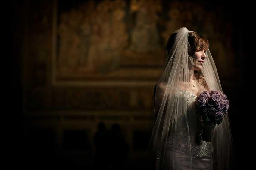 Destination wedding in Siena with civil ceremony