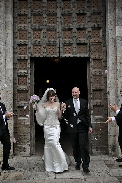 Destination wedding in Tuscany Siena