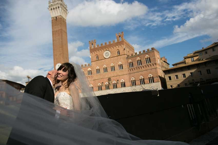 Tuscany weddings in Siena