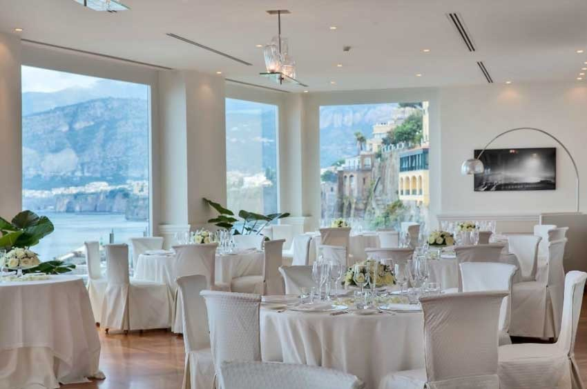 Bellevue Syrene for weddings in Sorrento