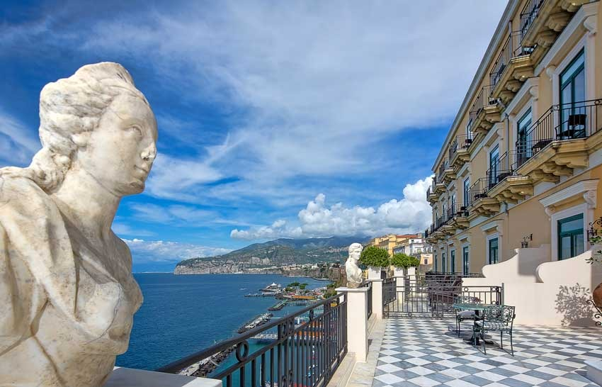Bellevue Syrene for wedding receptions in Sorrento