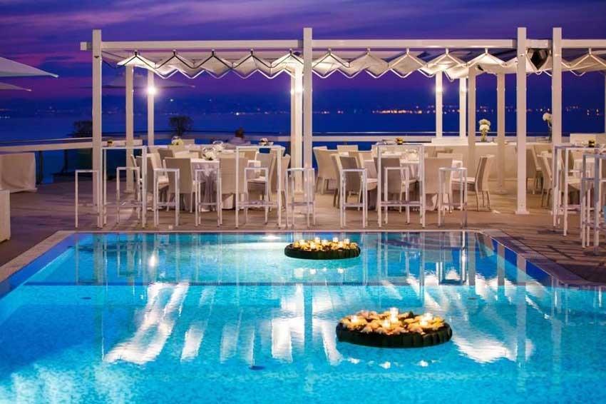 Villa Eliana for wedding receptions in Sorrento