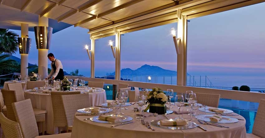 Villa Eliana for wedding receptions in Sorrento
