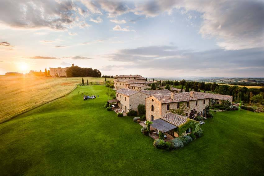 Borgo Finocchieto for destination weddings in Tuscany