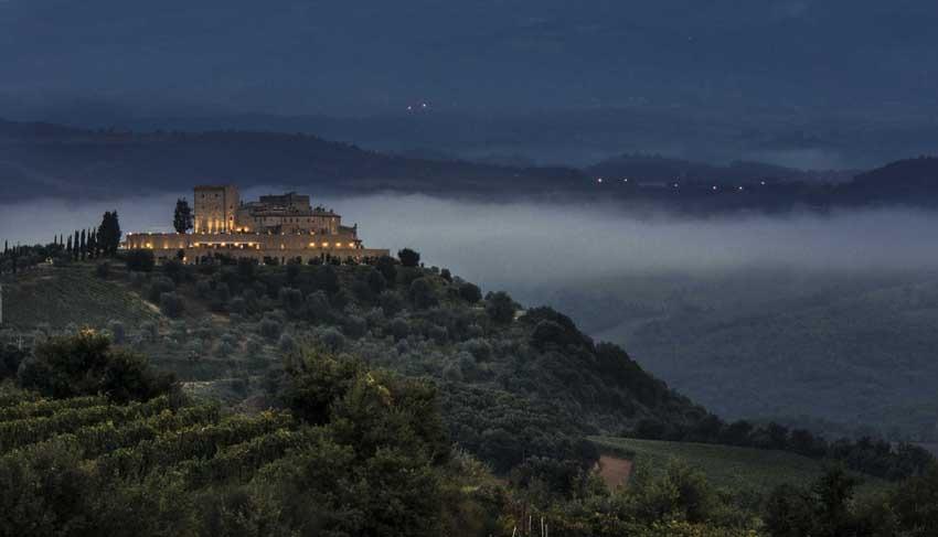 Castello di Velona for castle weddings in Tuscany