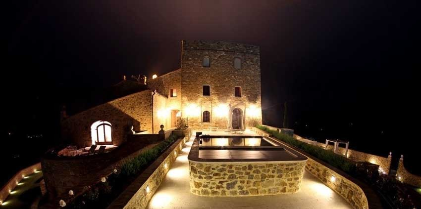 Castello di Velona for castle weddings in Tuscany