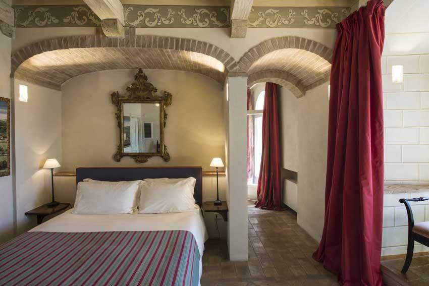 Suite of Castello di Velona, wedding venue in Tuscany