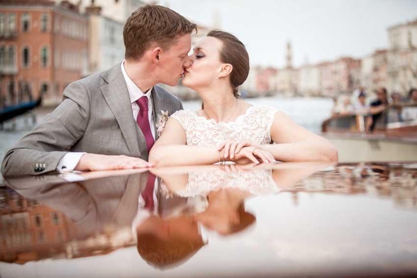 Wedding In Venice St Mark Square