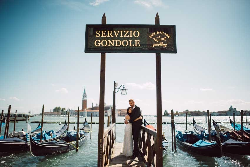 Destination wedding in Venice