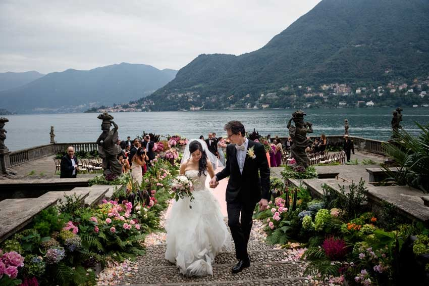 Destination Wedding On Lake Como Italy