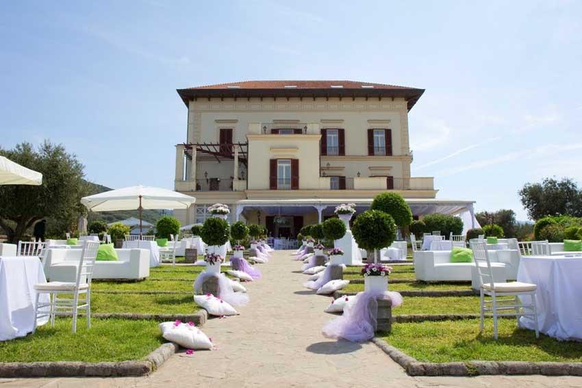 Villa Angelina for destination weddings in Sorrento