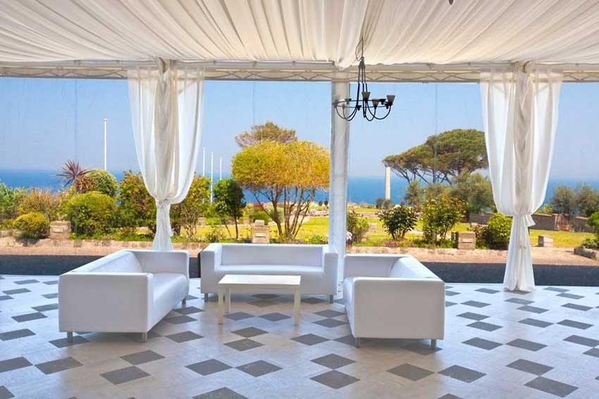 Villa Angelina for wedding receptions in Sorrento