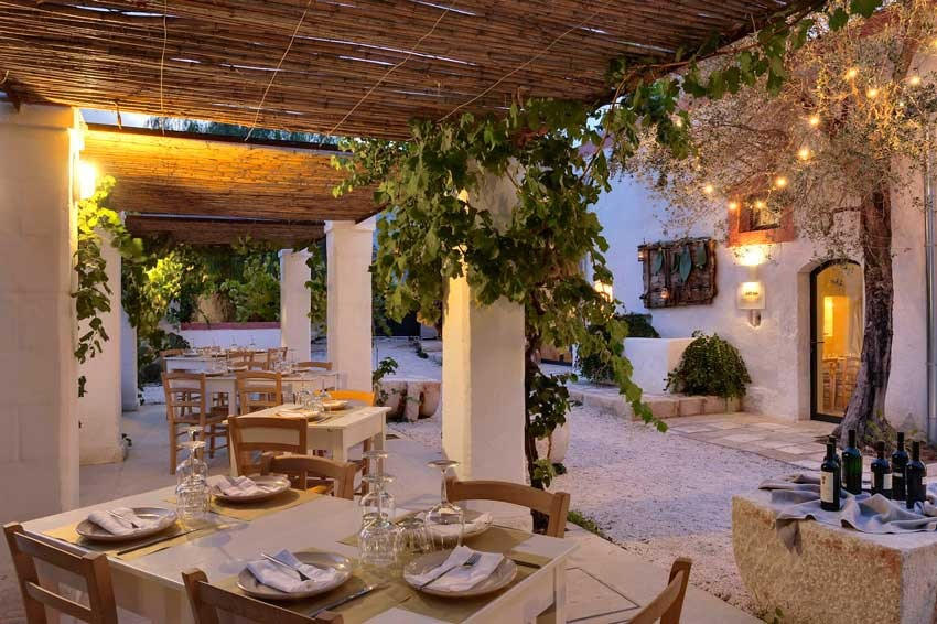 Typical masseria for destination weddings in Puglia, Italy