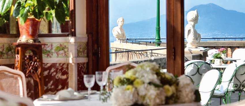 Excelsior Vittoria for weddings in Sorrento