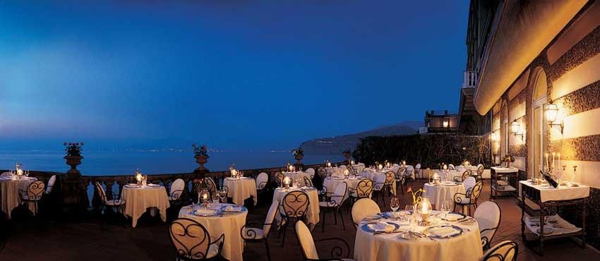Excelsior Vittoria for weddings in Sorrento