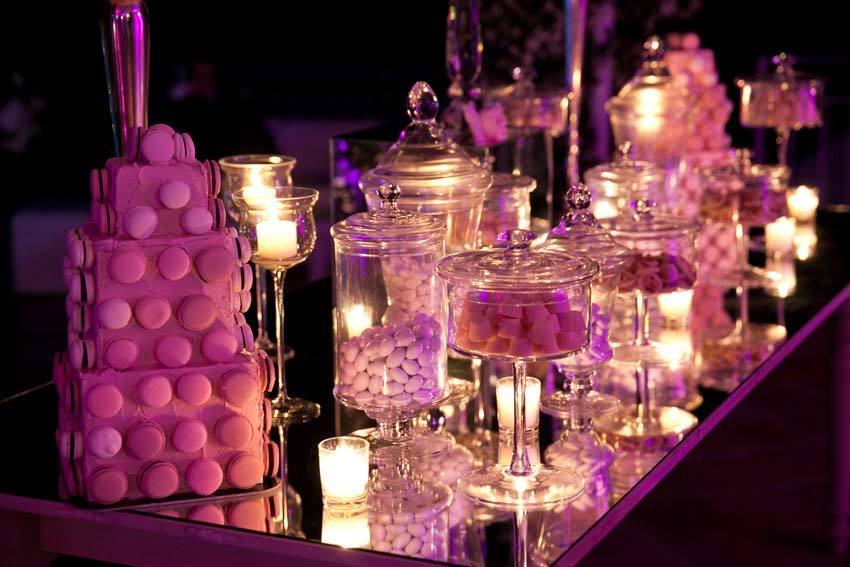 Italian confetti, sugared almonds traditional for weddings