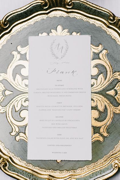 Table setting Vincigliata