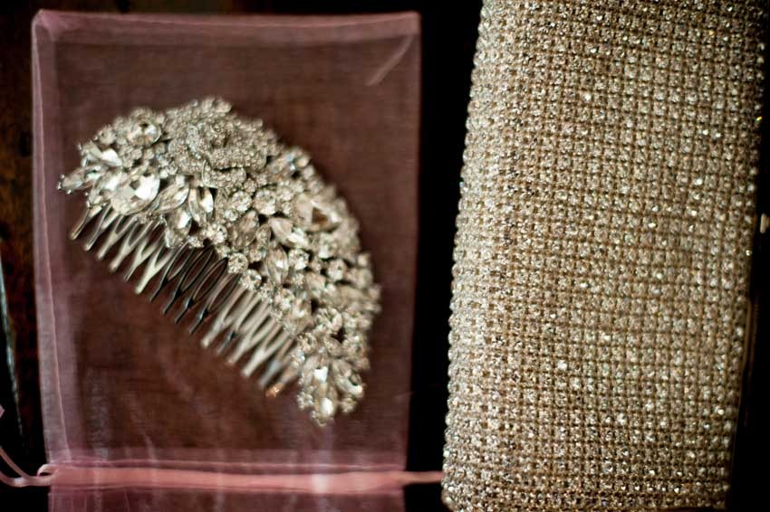 Luxury accessories for Gatsby themed wedding