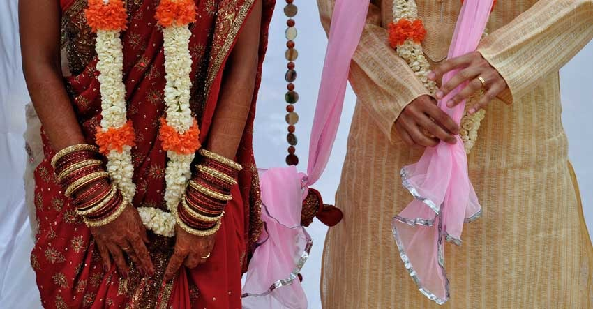 Hindu wedding ceremony, Indian rite