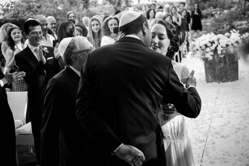 Jewish Wedding on the Amalfi Coast of Italy