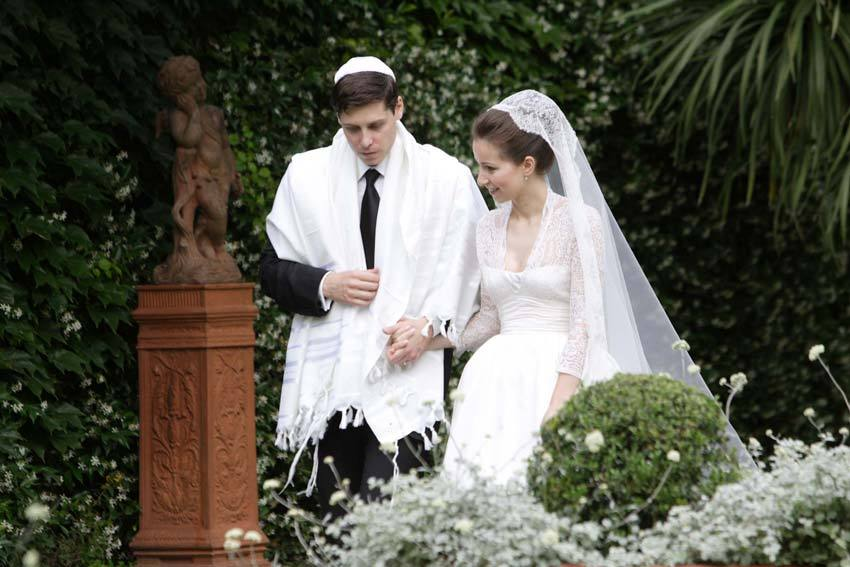 Jewish wedding in Italy.