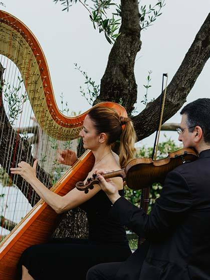Classical music for wedding in Italy