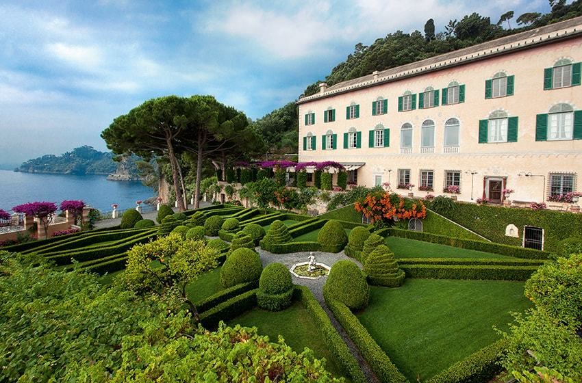 Abbazia La Cervara, Portofino. Top Indian wedding planner for Weddings in Tuscany, Venice, Florence, Como, Rome. Thinking of a Italy wedding? Call/WA +919910325805 | +919899744727 now!