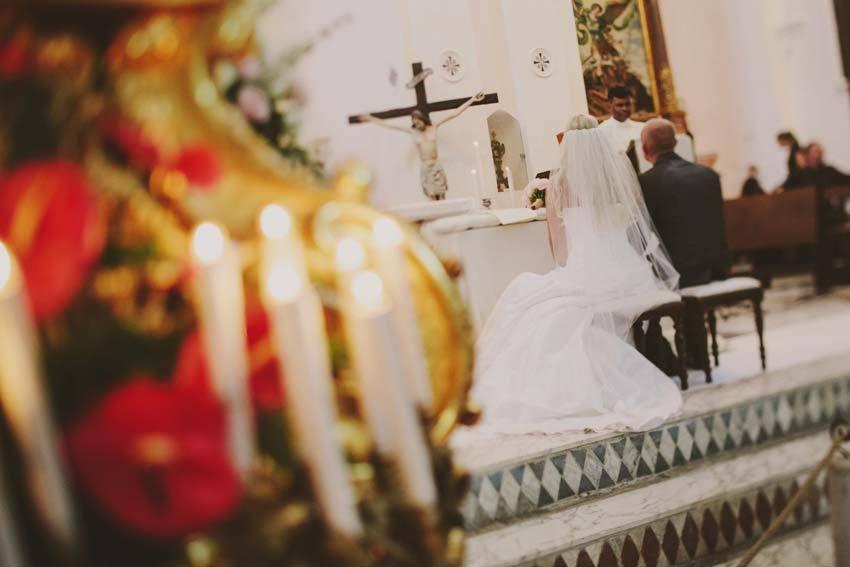 Catholic ceremony in Ravello on the Amalfi Coast