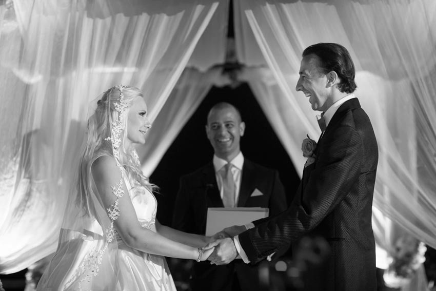 Vows renewal on the Amalfi Coast of Italy