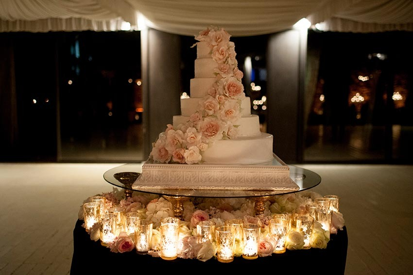 Wedding cake for wedding in Italy