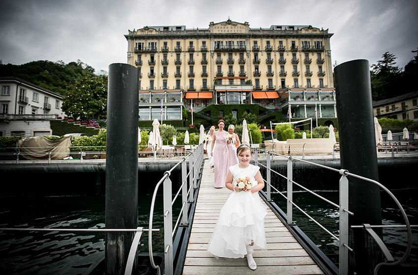 Grand Hotel Tremezzo, Lake Como Top Indian wedding planner for Weddings in Tuscany, Venice, Florence, Como, Rome. Thinking of a Italy wedding? Call/WA +919910325805 | +919899744727 now!