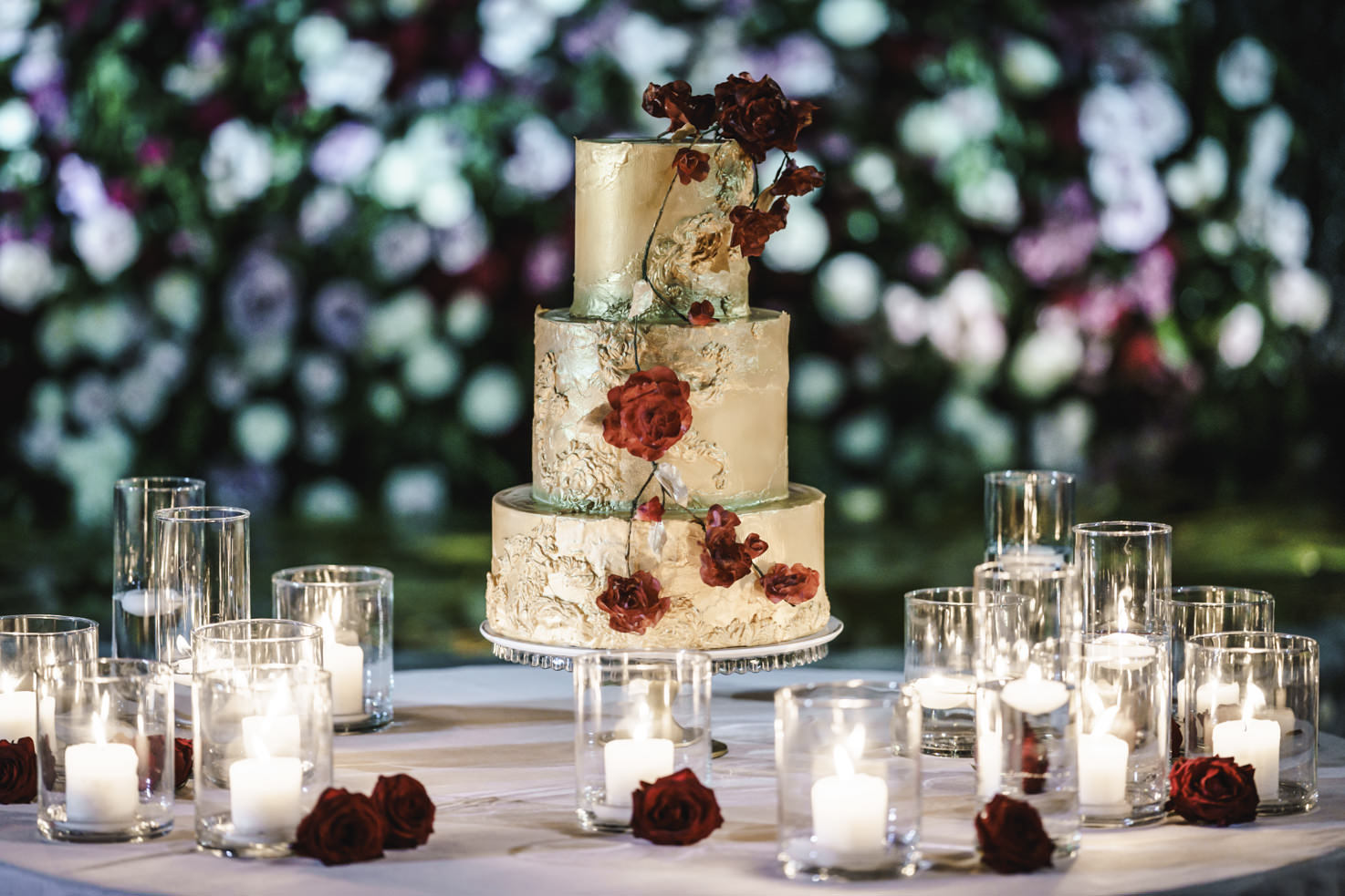 Cake for Italian wedding